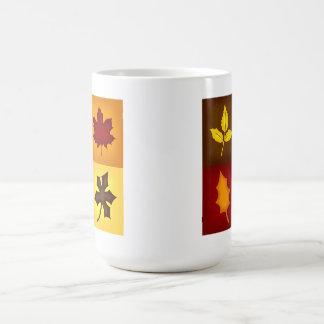 Fall Leaves Coffee Mug - Seasonal Kitchen Decor