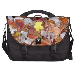 Fall leaves commuter bag