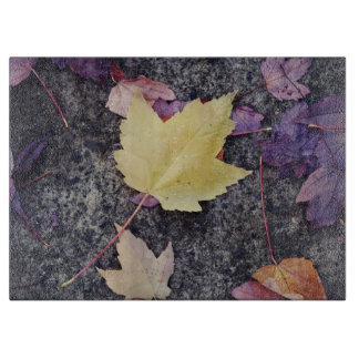 Fall Leaves Cutting Board