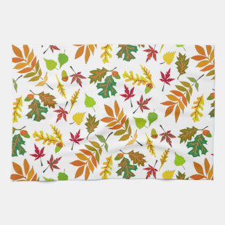 Fall Leaves Dishtowel Kitchen Towels