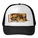 FALL Leaves GOLDEN Leaf Show T-shirts Trucker Hat