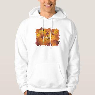 Fall leaves hoodie