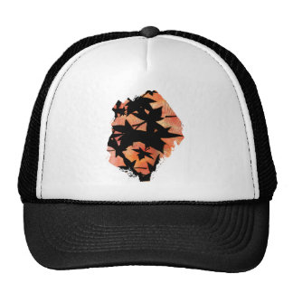 Fall Leaves in Abstract Trucker Hat
