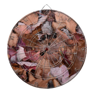 Fall leaves in the Smoky Mountains Dartboard With Darts
