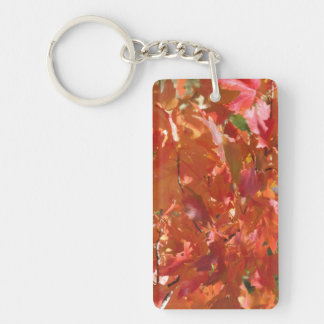Fall Leaves Keychain