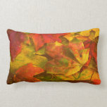 Fall Leaves Lumbar Pillow