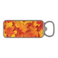 Fall Leaves Magnetic Bottle Opener