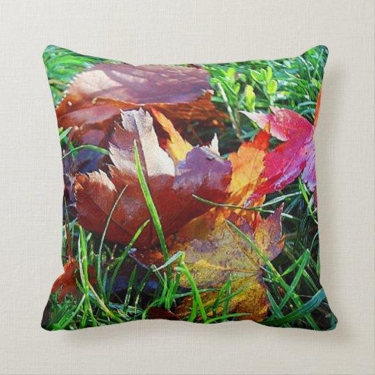 Fall Leaves MoJo Pillow