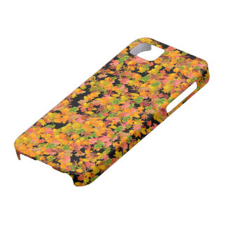 Fall Leaves Pattern iPhone SE/5/5s Case