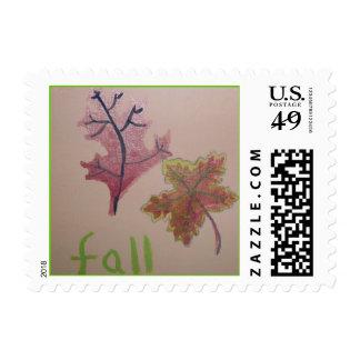 Fall Leaves Postage
