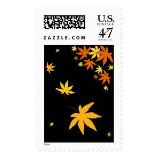 Fall leaves - Postage