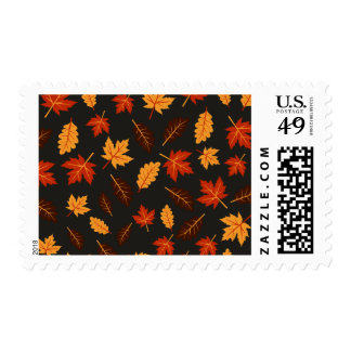 Fall Leaves Postage Stamps