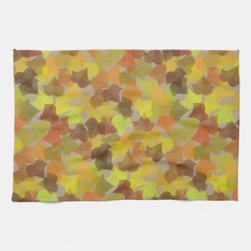Bounty Paper Towels Fall Prints: Fall Leaves Print Hand Towels