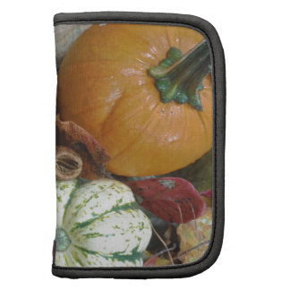Fall leaves Pumpkins and Gourds Planners