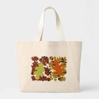 Fall Leaves Silhouette Colors Design Bags