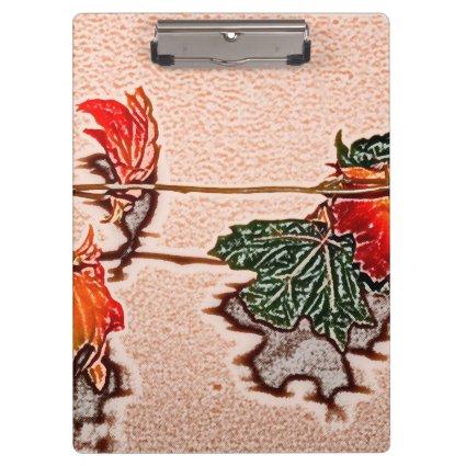 fall leaves sketch image autumn leaf orange clipboard