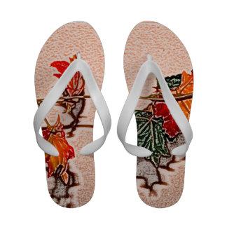 fall leaves sketch image autumn leaf orange sandals