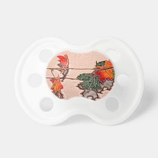 fall leaves sketch image autumn leaf orange baby pacifiers