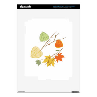 Fall Leaves iPad 3 Decals