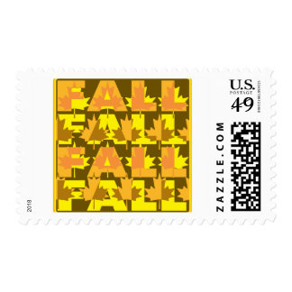 Fall Leaves Stamps