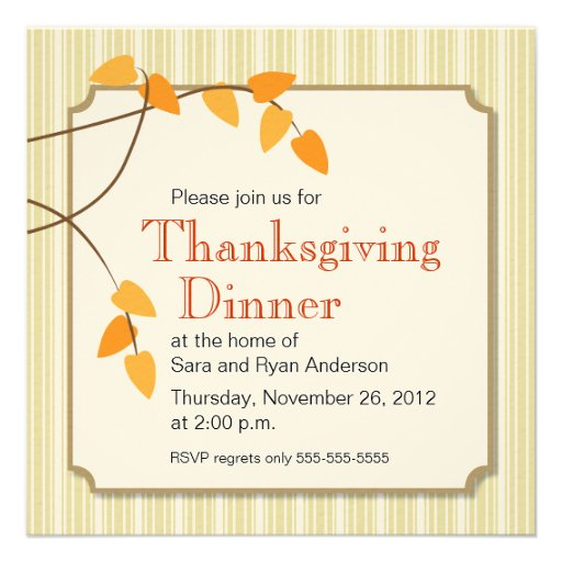 Free Thanksgiving Invites with best invitations design