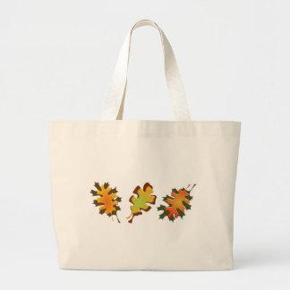 Fall Leaves Three Autumn Design Bag