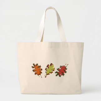 Fall Leaves Three Autumn Design Canvas Bag