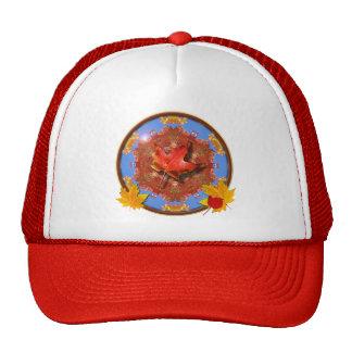 Fall Leaves Trucker Hat