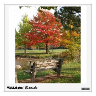 Fall Leaves Wall Sticker