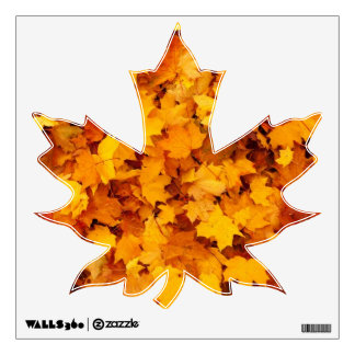 Fall Leaves Wall Graphic
