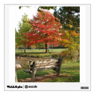Fall Leaves Wall Skin