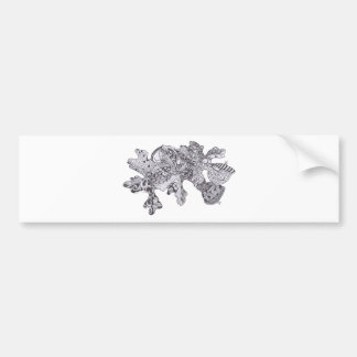 Fall Leaves with Acorns Bumper Sticker