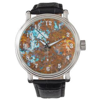 Fall Leaves Wristwatch