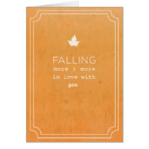 Fall Love Note