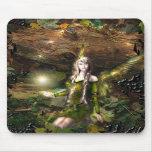Fall Magic Fairy Mouse Pads