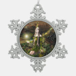 Fall Magic Fairy Pewter Ornament