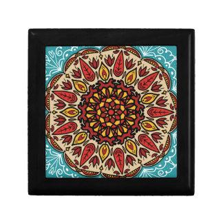 Fall Mandala Gift Box