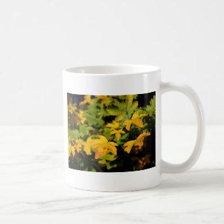 Fall maple leaves coffee mug