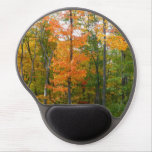 Fall Maple Trees Autumn Nature Photography Gel Mouse Pad