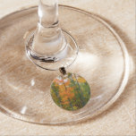Fall Maple Trees Autumn Nature Photography Wine Glass Charm