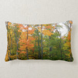 Fall Maple Trees Throw Pillows