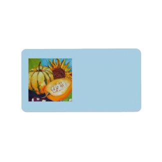 Fall Medley Address Label