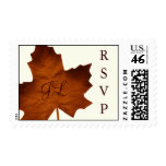Fall Monogrammed RSVP Stamp