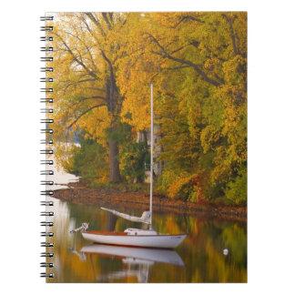 Fall Mooring Spiral Note Book