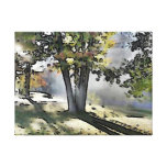 Fall Morning Gallery Wrapped Canvas
