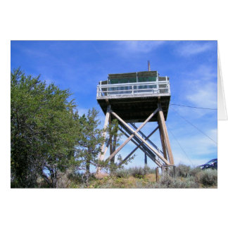 Fall Mountain Fire Lookout built in 1933 Card