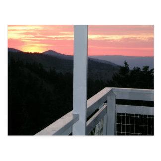 Fall Mountain Fire Lookout Postcard