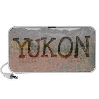 Fall Mountain Landscape; Yukon Souvenir Mini Speakers