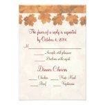Fall Mountain Wedding RSVP Personalized Announcements