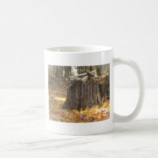 fall classic white coffee mug